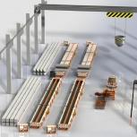 Технологическая линия по производству ж/б свай квадратного сечения, Барнаул