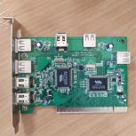 Контроллер Firewire PCI 1394 ,VIA VT6306, 4 port ext , 2 port int, Барнаул