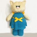 Мягкая игрушка кошка в платье, Барнаул