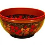 Чашка деревянная хохлома 60*120, Барнаул