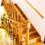 Профессиональное изготовление деревянных лестниц в Барнауле, Барнаул