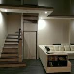 Лестница из дуба для дома на заказ, Барнаул