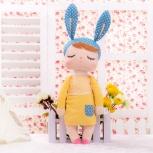 Мягкая кукла Зайка в желтом платье, Барнаул