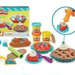 Ягодные тарталетки набор для лепки Play-Doh от Hasbro, Барнаул