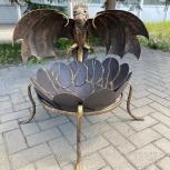 Костровая чаша в виде дракона (очаг), Барнаул