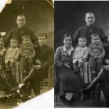 Оцифровка и обработка бумажных фото, Барнаул