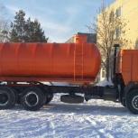 Вакуумная ассенизаторская бочка 15 кубов., Барнаул