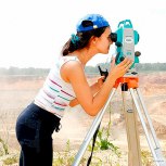 Видео-курс по геодезии. Работа с тахеометром, Барнаул