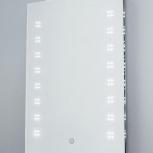 Зеркало с LED-подсветкой в ванную комнату, Барнаул