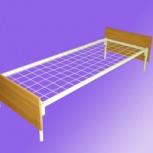 Кровати металлические для больниц с спинками ДСП, Барнаул