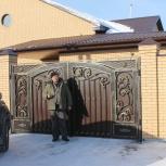 Ворота калитка ажурные холодная ковка, ручная ковка в Барнауле, Барнаул