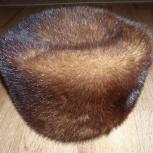 продается женская норковая шапка-кубанка, Барнаул