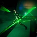 Лазермен шоу лазерное шоу творческая группа Альт Шоу, Барнаул