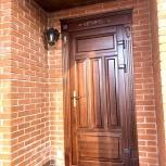 Двери деревянные входные утепленные, Барнаул