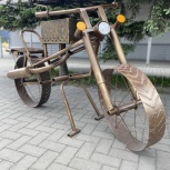 Мангал в виде мотоцикла, Барнаул