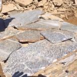 Серицит -  натуральный природный камень  с карьера от производителя, Барнаул