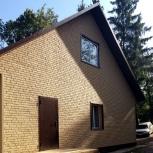 Фасадные панели Stone House кирпич, Барнаул