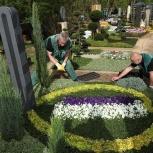 Уход за могилой, благоустройство захоронения, посадка цветов, Барнаул