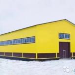 Строительство прямостенных ангаров из металлоконструкций, Барнаул