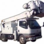 Аренда автовышки 12-50 метров, Барнаул