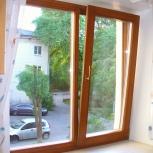 Окна деревянные поворотно-откидные, Барнаул