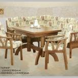 Мебель для кухни в румынском стиле! Оригинальные уголки из дерева, Барнаул