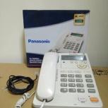 Телефон проводной Panasonic KX-TS2565RU с ЖК-дисплеем, Барнаул