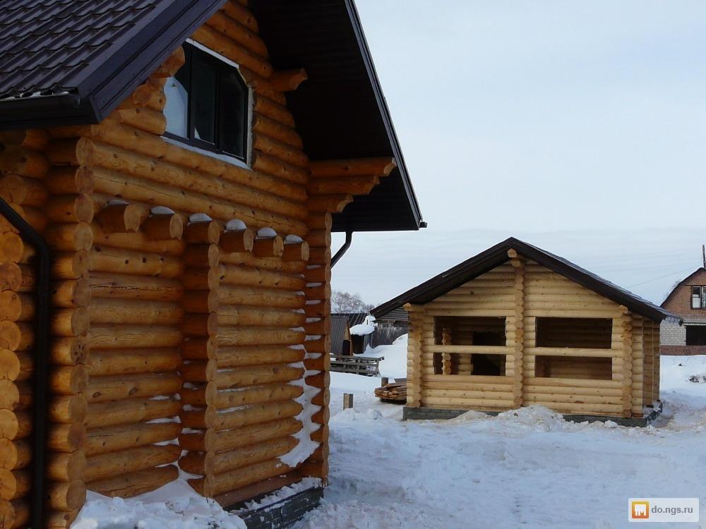 строительство деревянных домов бань и усадеб