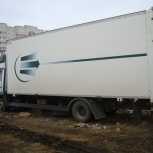 Грузоперевозки фургон 50 м.куб., 8 тонн. Без посредников, Барнаул
