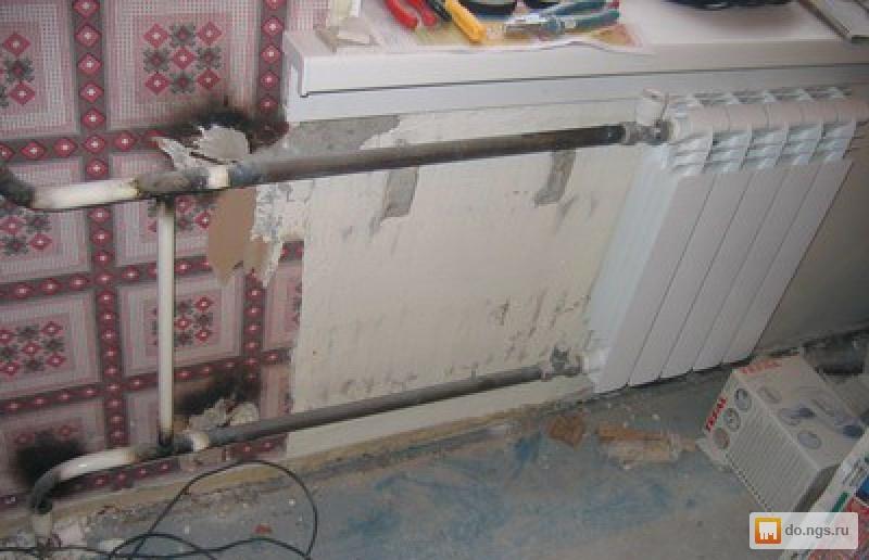 Как заменить радиатор отопления своими руками