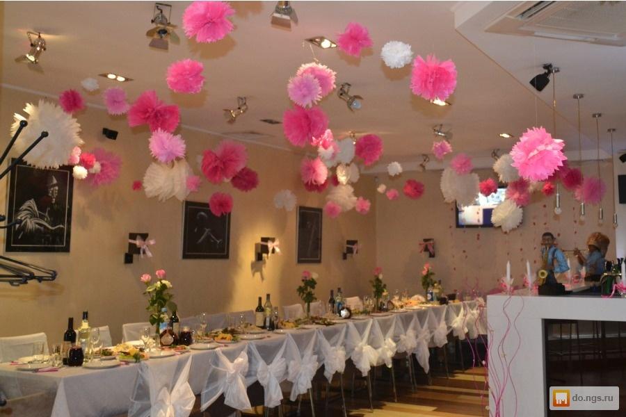 Декорирование свадебного зала своими руками 87