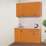 "Кухня ""Дайона"" врезная мойка, цвет вишня, Барнаул"