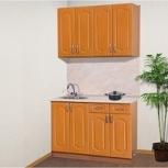 "Кухня ""Аглая"" врезная мойка, цвет вишня, Барнаул"