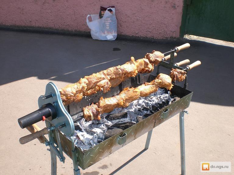Электропривод для мангала шампуров своими руками