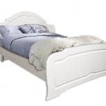 Кровать из набора Ольга Кр-2x7 белый глянец, Барнаул