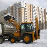 Снегоуборочные работы, Барнаул